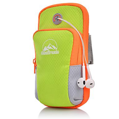 preiswerte Taschen-Unisex Reißverschluss Oxford Tuch Handy-Beutel Gestreift Schwarz / Orange / Rosa / Herbst Winter