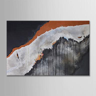 Hang oslikana uljanim bojama Ručno oslikana - Sažetak Moderna Bez unutrašnje Frame / Valjani platno