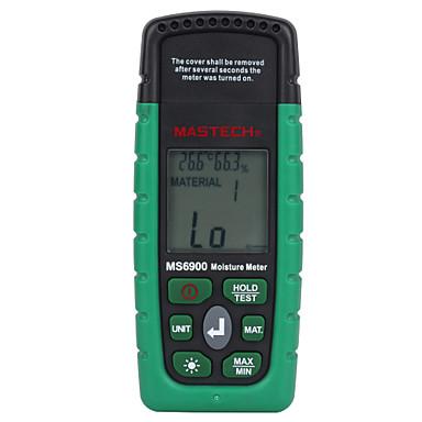 levne Testovací, měřící a kontrolní vybavení-mastech ms6900 digitální měřič vlhkosti dřevěný řezivo betonové budovy teplota vlhkoměr s LCD displejem podsvícení