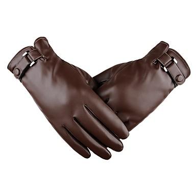 Cijeli prst Muškarci Moto rukavice Koža Touch Screen / Ugrijati