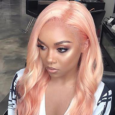 povoljno Ekstenzije od ljudske kose-3 paketi s zatvaranjem Brazilska kosa Tijelo Wave Remy kosa Jedan Pack Solution tkati Kosa potke zatvaranje 10-26 inch Rose Pink Isprepliće ljudske kose s dječjom kosom Nježno Za crnkinje Proširenja