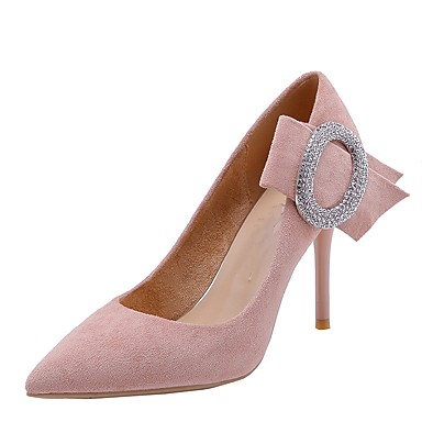 72dd2bf5875e Women s Pumps Faux Fur Spring   Fall Sweet Heels Stiletto Heel Pointed Toe  Rhinestone Red   Almond   Light Pink   Party   Evening 6948793 2019 –  39.99