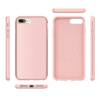 size 40 f5c48 2605c [$5.99] BENTOBEN Case For Apple iPhone 8 Plus / iPhone 7 Plus Shockproof /  Ultra-thin Back Cover Solid Colored / City Hard TPU / PC for iPhone 8 Plus  ...