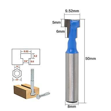 preiswerte Cutter-gutmax 1 stück 8mm schaft t-slot lock cutter fräser holzfräser holzbearbeitung bohrer werkzeug für trim router ht29