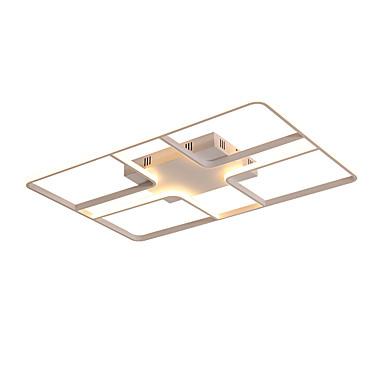 ZHISHU Geometrijski Flush Mount Ambient Light Slikano završi Metal Kreativan 110-120V / 220-240V Meleg fehér / Bijela