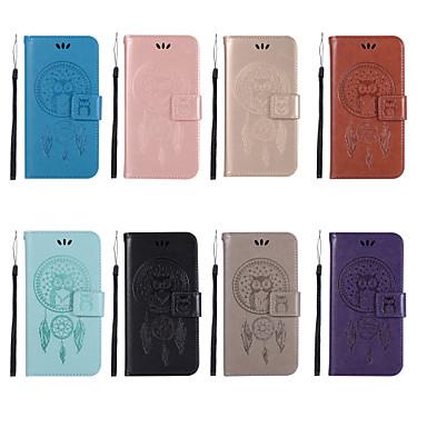 Θήκη Za Huawei Huawei Honor 10 / Honor 9 / Huawei Honor 9 Lite Novčanik / Utor za kartice / sa stalkom Korice Sova Tvrdo PU koža