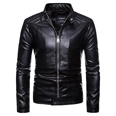 povoljno Motori i quadovi-AOWOFS PY001 Odjeća za motocikle Zakó za Muškarci Umjetna koža Proljeće & Jesen / Zima Vodootporno / Otporne na nošenje / Protection
