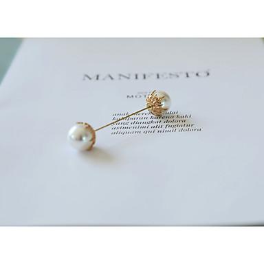 Žene Broševi Retro Biseri Broš Jewelry Krema Za Vjenčanje Svečanost