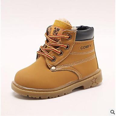f2e7699fd85 Chico Zapatos Cuero Otoño   Otoño invierno Confort Botas para Bebé Negro    Amarillo   Marrón   Botines   Hasta el Tobillo 7019287 2019 –  14.24