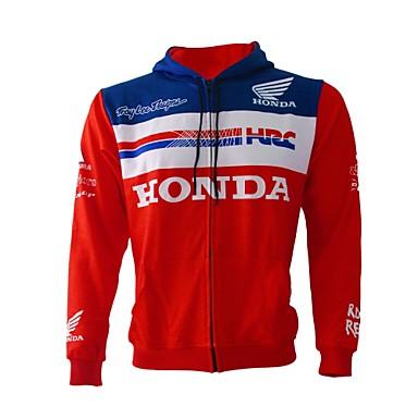 billige Motorsykkeljakker-motorsykkelklær skjorter og topper for unisex flanell / polyester jacquard vår / vinter fleksibel / raskt tørr / solkrem for motorsykkel racing syklist ridende pustende all-weather