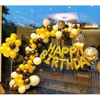 voordelige Feestbenodigdheden-Ballon Latex 50 Verjaardag