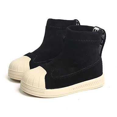 53c7c1348cd1 Boys    Girls  Shoes Suede Winter Fashion Boots Boots Zipper for Toddler  Black   Almond   Booties   Ankle Boots 7030513 2019 –  29.99