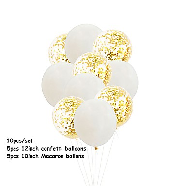 povoljno Svadbeni pir-Baloni Emulzija 10pcs Vjenčanje