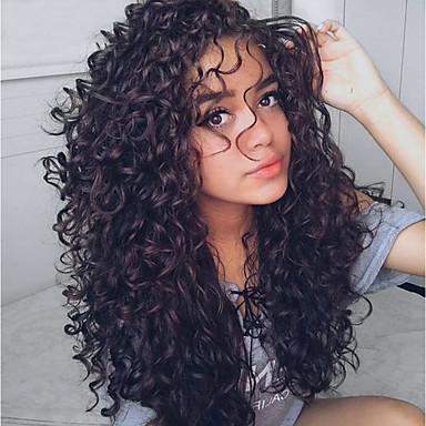 hesapli Postişler-3 Paket Hintli Saçı Dalgalı Su Vanası İşlenmemiş Gerçek Saç İnsan saç örgüleri Saç Bakımı Niteliği Uzatıcı 8-28 inç Siyah Doğal Renk İnsan saç örgüleri İnsan Saç Uzantıları / 8A