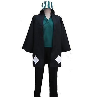 Inspirirana Cosplay Cosplay Anime Cosplay nošnje Japanski Cosplay Suits Jedna barva / Patterned / / Shirt / Top / Hlače Za Uniseks / Šešir