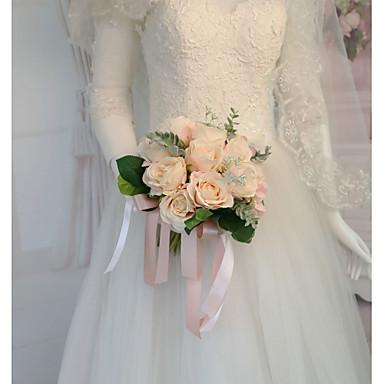 Cvijeće za vjenčanje Buketi Vjenčanje / Svadba Osušeni cvijet / Svila 11-20 cm