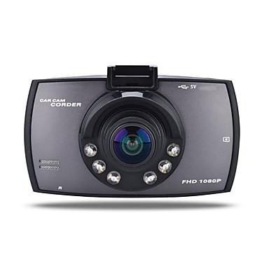 billige Bil-DVR-720p bil DVR 170 graders vidvinkel 12.0mp cmos 2,7 tommers tft LCD skjerm dash kamera med bevegelsesdeteksjon 6 infrarød leds bilopptaker