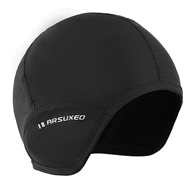 77e6a18dc [$4.11] Arsuxeo Helmet Liner Skull Caps Skull Cap Beanie Helmet Liner Solid  Color Reflective Thermal / Warm Fleece Lining Antistatic High Elasticity ...