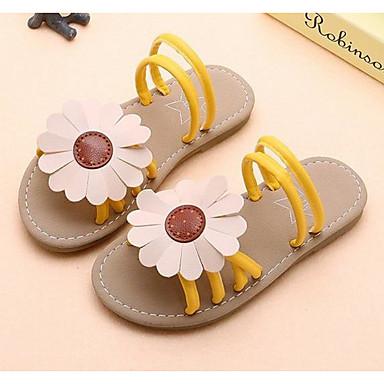 d111dfbaa Chica Zapatos Cuero Sintético Verano Suelas con luz Sandalias Flor para  Niños Negro   Amarillo   Rosa 7012235 2019 –  14.99