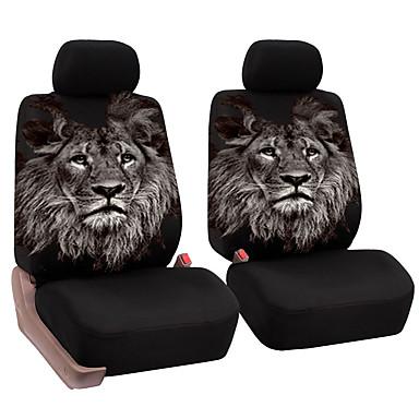 billige Interiørtilbehør til bilen-universell bilstol foran fulle pute unike løve mønster pustende setepute