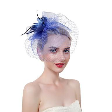 Tül / Tüy Tüy  -  Şapkalar 1 parça Düğün / Parti / Gece Başlık