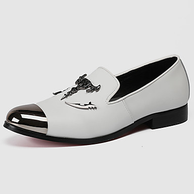 men's formal shoes nappa leather fall casual / british