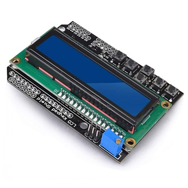 levne Elektrické vybavení-1602 stínící modul lcd displej v3 pro arduino uno r3 mega2560 nano
