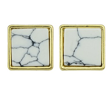 levne Dámské šperky-Dámské Peckové náušnice Přes rameno dámy Základní Módní Náušnice Šperky Zlatá Pro Denní Rande 1 Pair