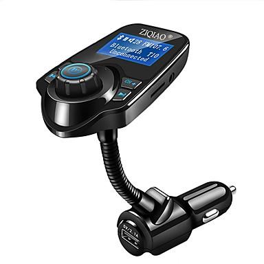 ziqiao auto mp3 audio player bluetooth fm odašiljač bežični fm modulator auto kit handsfree LCD zaslon USB punjač