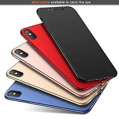 povoljno iPhone maske-Θήκη Za Apple iPhone XS / iPhone XR / iPhone XS Max Ultra tanko / Mutno Stražnja maska Jednobojni Tvrdo PC