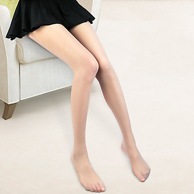 Oprema za ples Stockings Žene Trening / Seksi blagdanski kostimi Najlon / Elastan Jedna boja