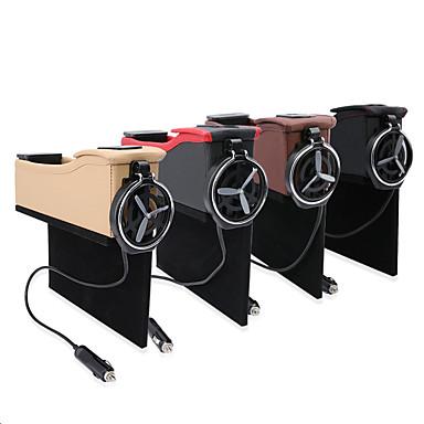 billige Organisasjon til bilen-Organisasjon til bilen Oppbevaringskasser Lær Til Universell Alle år Alle Modeller