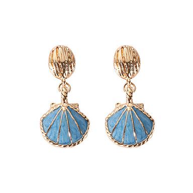 Žene Viseće naušnice Retro Školjka dame Europska Moda Elegantno Naušnice Jewelry Obala / Plava Za Party Spoj 1 par