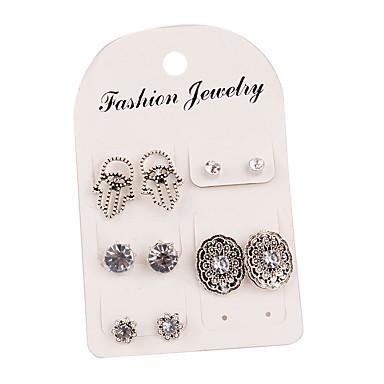 Žene Sitne naušnice Klasičan Klasik Naušnice Jewelry Pink Za Dnevno 5 Parovi