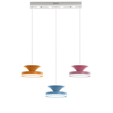 QINGMING® 3-Light Mini Privjesak Svjetla Ambient Light Slikano završi Metal Mini Style, LED 110-120V / 220-240V Meleg fehér / Hladno bijela