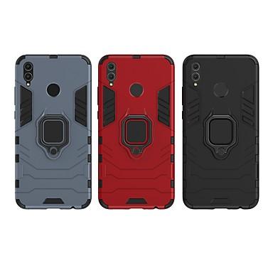 Θήκη Za Huawei Huawei Honor 8X Otporno na trešnju / Prsten držač Stražnja maska Jednobojni / Oklop Tvrdo PC