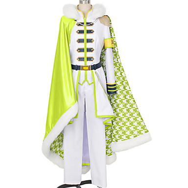 Inspirirana IDOLiSH7 Yuki Anime Cosplay nošnje Japanski Cosplay Suits Jednostavan / Klasika Top / Hlače / Plašt Za Muškarci / Žene