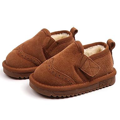 Αγορίστικα   Κοριτσίστικα Παπούτσια Σουέτ Χειμώνας Μπότες Χιονιού Μπότες  για Παιδιά   Νήπιο Μαύρο   Κάμελ   Μποτίνια 7040951 2019 –  34.99 3732f3499a7
