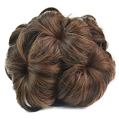 povoljno Perike i ekstenzije-vjenčanje svadba updo punđa kolač cvijet isječak sintetičke ekstenzije culry kosa više boja