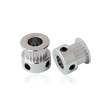 preiswerte 3D-Drucker Teile & Zubehör-Anet 2 pcs 20-Zahn Synchronrad (2GT) für 3D-Drucker