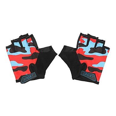 Half-prst Sve Moto rukavice Tkanina / silika gel Prozračnost / Ne skliznuti
