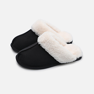 931c9fe75801 Women s Slippers   Men s Slippers Guest Slippers   Slippers   House Slippers  Ordinary   Casual Nubuck leather solid color Shoes 7007325 2019 –  18.79