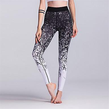 00bb96a71f63e1 Women's Yoga Pants Sports 3D Print High Rise Leggings Zumba Running Fitness  Activewear Breathable Sweat-wicking Butt Lift Power Flex High Elasticity  Skinny ...
