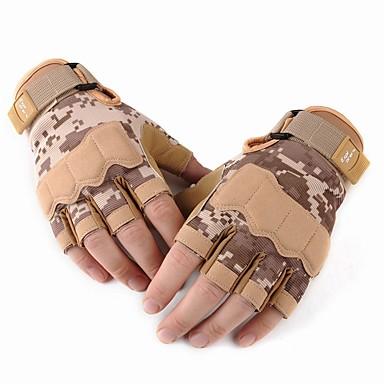 Half-prst Muškarci Moto rukavice Koža Otporno na nošenje / Protective / Ne skliznuti