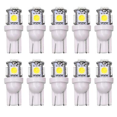 preiswerte Auto Lampen-SO.K 10 Stück T10 Auto Leuchtbirnen 5 W 160 lm LED Innenbeleuchtung