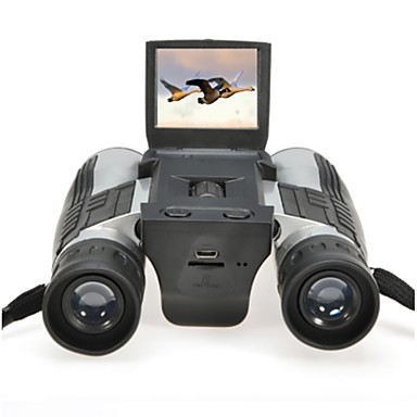 baratos Equipamento de Teste, Medição e Inspeção-Zoom fs608 câmera do telescópio binocular digital 5mp sensor cmos 2.0 '' tft full hd 1080 p dvr foto de gravação de vídeo binóculos usb