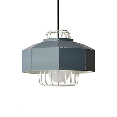 Geometrijski Privjesak Svjetla Ambient Light Slikano završi Metal New Design 110-120V / 220-240V Meleg fehér