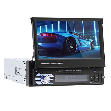 cheap Car DVD Players-SWM 9601G 7 inch 1 DIN In-Dash Car DVD Player Stereo GPS Navigation/ Car Multimedia Player / Car MP5 Player Touch Screen / GPS /Bluetooth RCA / Audio / AV out Support MPEG / WMV / MPE MP3 FM/AM Radio