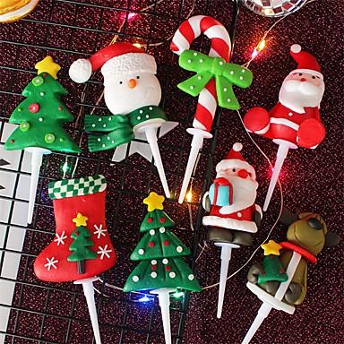 Holiday Decorations Christmas Decorations Christmas Ornaments Decorative colour bar 1pc 7010680 2019 – $2.99