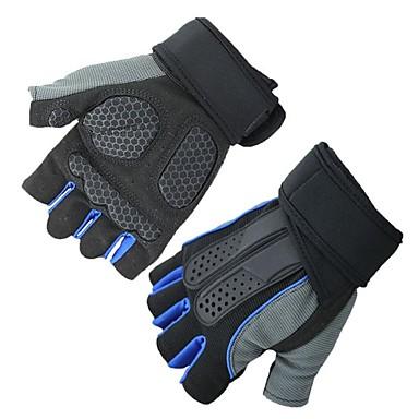 Half-prst Sve Moto rukavice Vlakno Prozračnost / Ne skliznuti